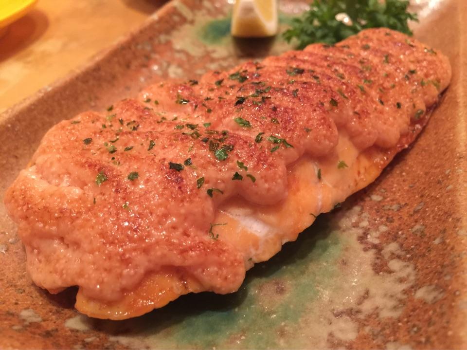 លទ្ធផលរូបភាពសម្រាប់ Salmon Mentai
