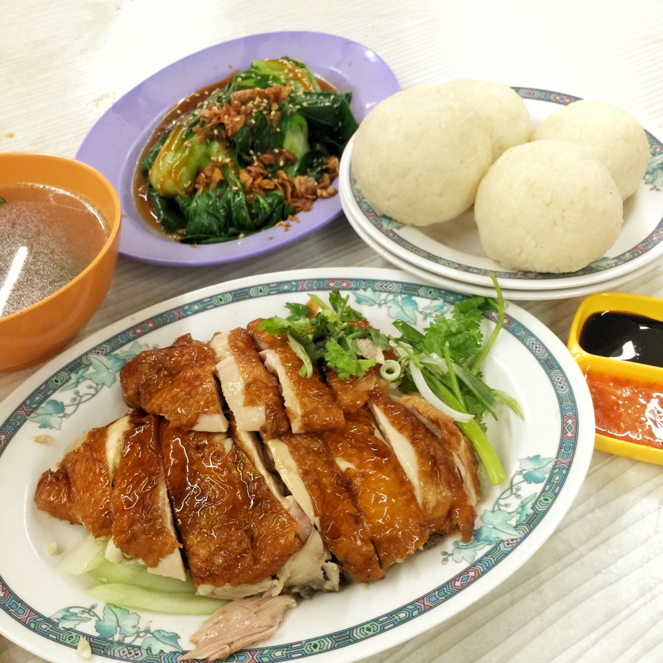 Chicken Rice Balls