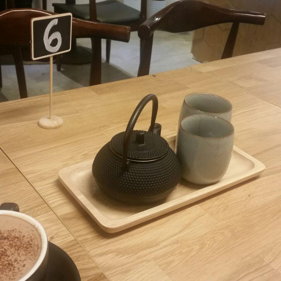 Hot Chocolate & Earl Grey Lavender Tea