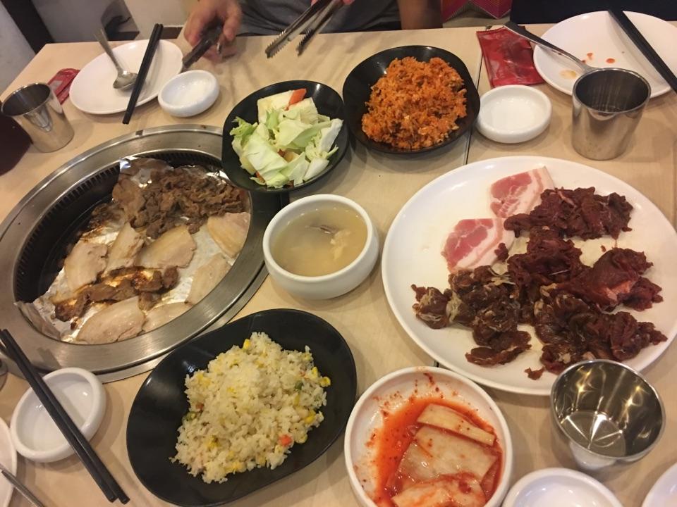 Korean Bbq night
