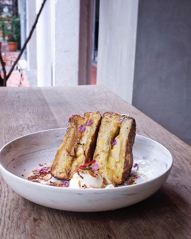Kaya Toast [$16] .