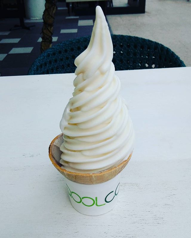 Coconut Soft Serve.