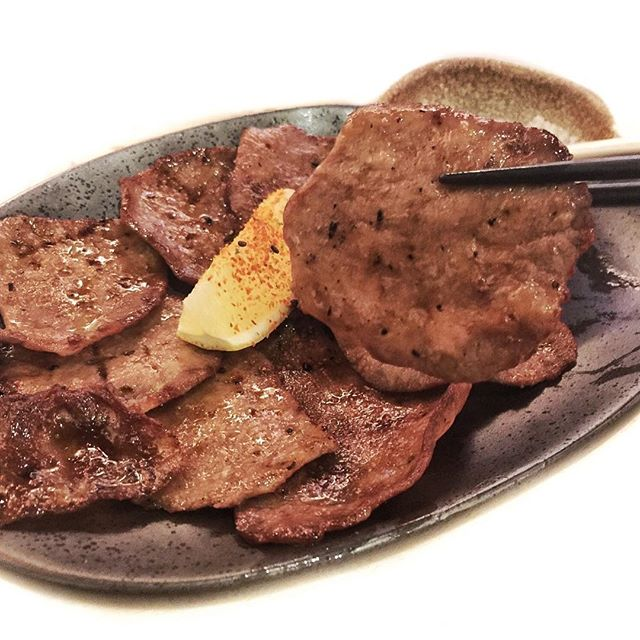 Grilled Beef Tongue ☻☻☻☻☻☻☻☻☻☻ One of the recommended dishes that taste so good!