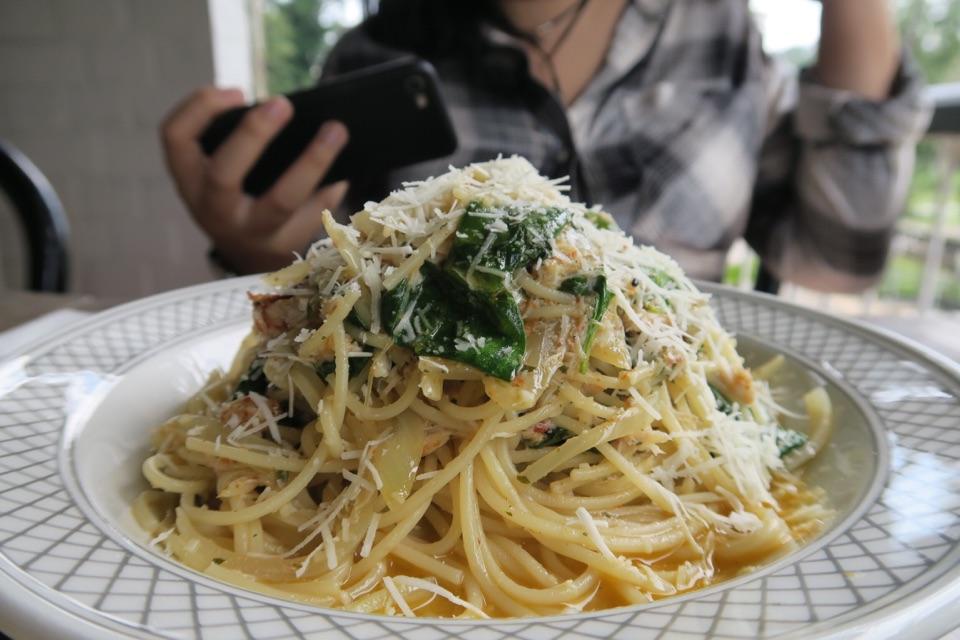 Spaghettini Vin Blanc
