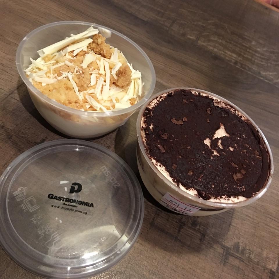 Tiramisu + White Chocolate Yoghurt Crumble