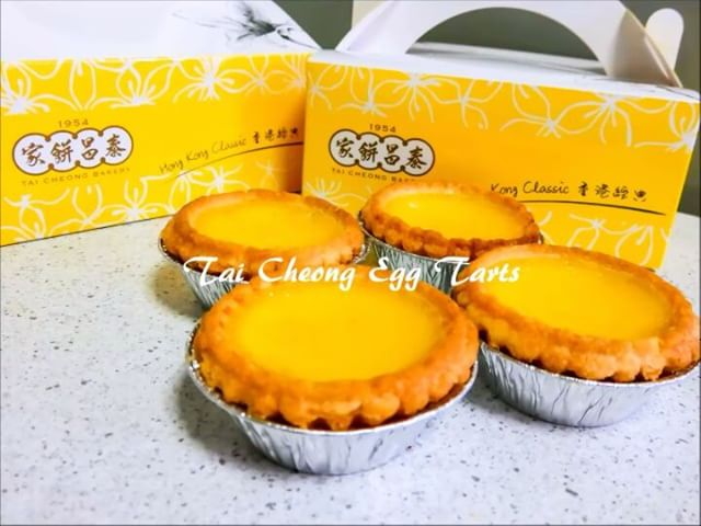 [NEW] [Opened: July 2016] Famous egg tarts from Hong Kong Tai Cheong Bakery Singapore is back with a new permanent outlet at Takashimaya Food Hall!