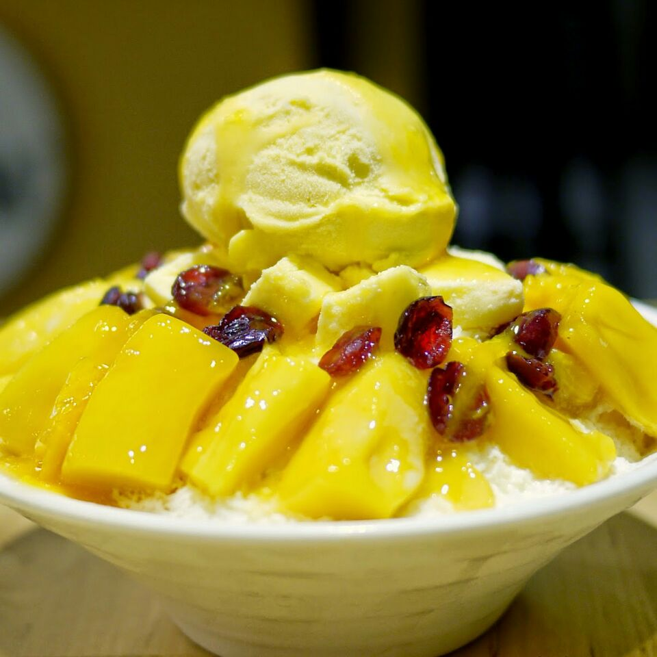For Mango Korean Bingsu