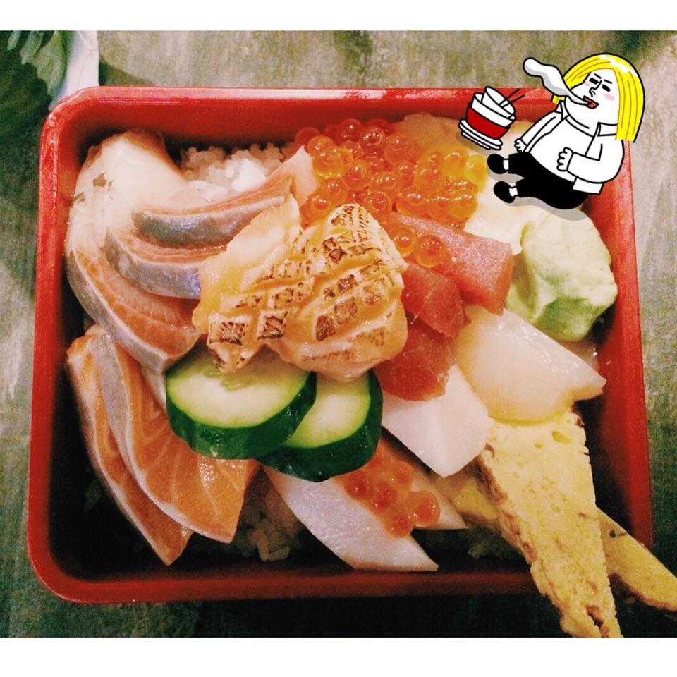 Exploding Amount Of Sashimi Don