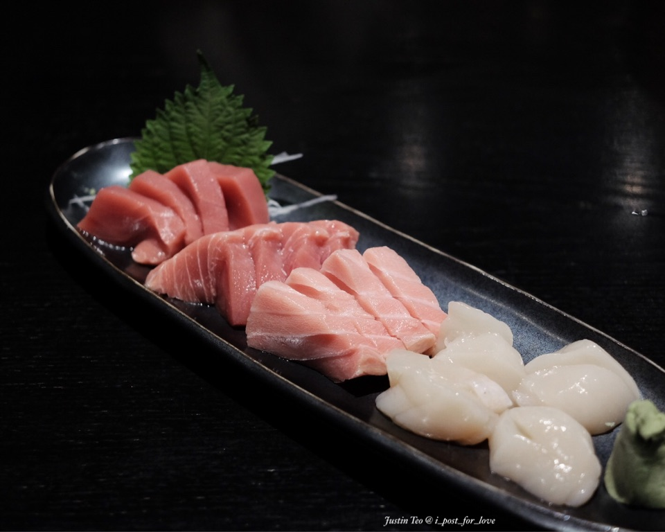 Bluefin Chutoro and Otoro [one time serving, ala buffet S$43++].