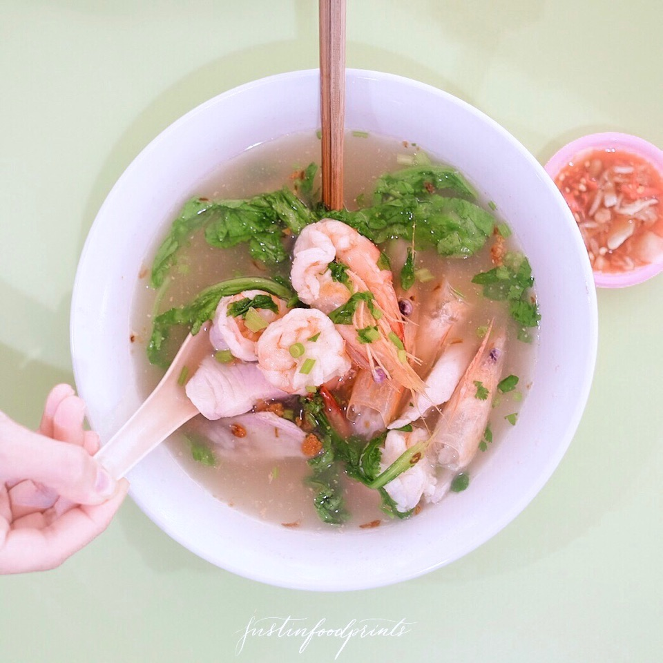 Prawn and Fish Soup ($15)