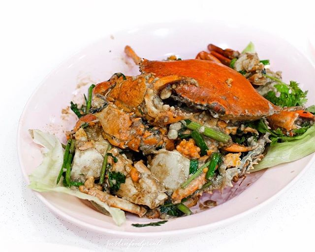 White pepper crab ($78 for two).