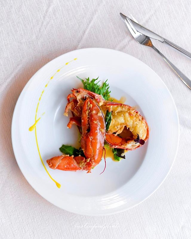 [New Menu] Baked Lobster with Creamy Custard Sauce (seasonal price).
