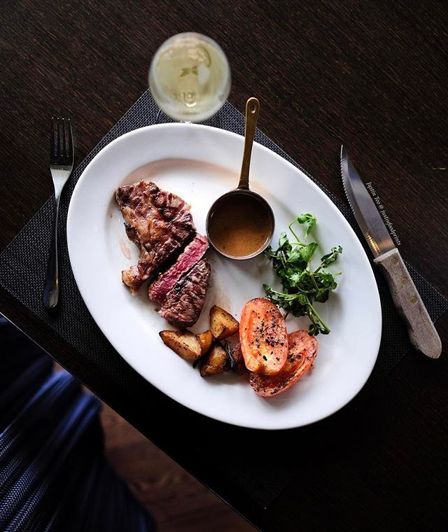 Five Course Brunch - USDA Prime Ribeye Steak (5 course brunch at $48++, with $30++ supplement to upgrade from Australian Sirloin to USDA Prime Ribeye).