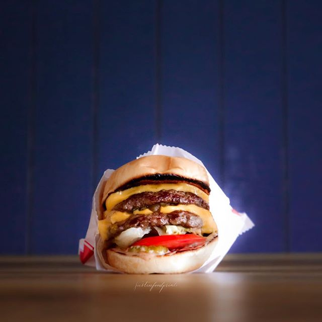 In-N-Out Double Double Burger Animal Style ($5).