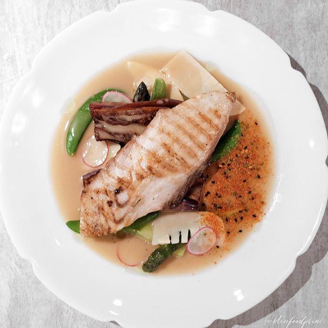 [New Lunch Menu] Roasted Spanish Mackerel ($19 nett).