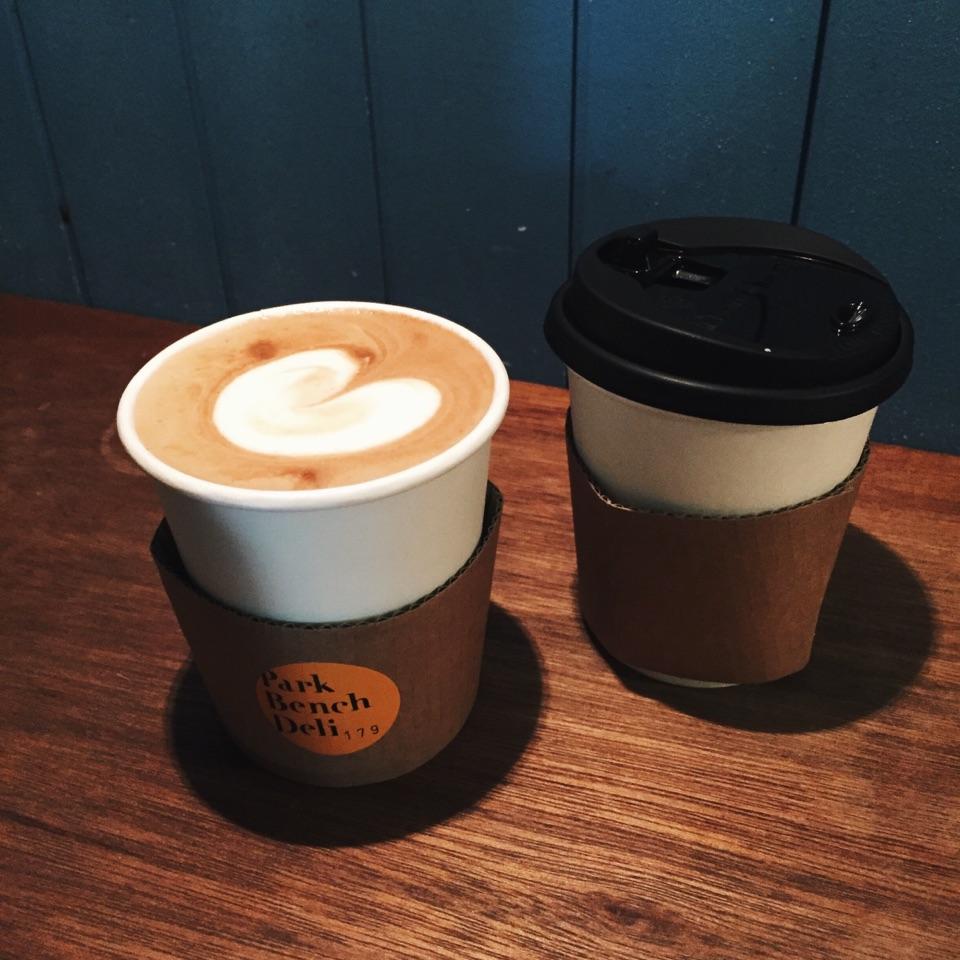 Latte & Americano