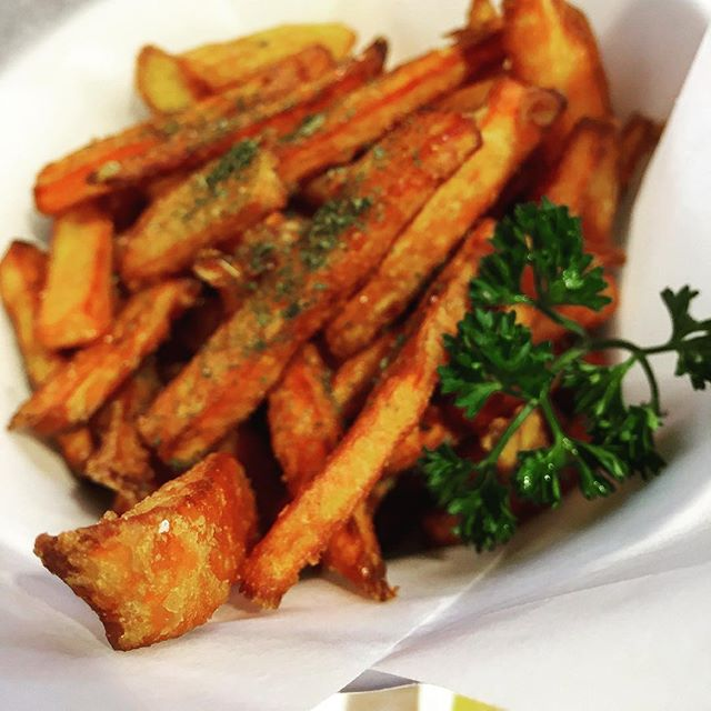 Sweet potato fries.