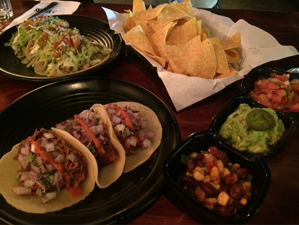 Tacos, Tortillas And A Unique Cocktail+Beer Combo