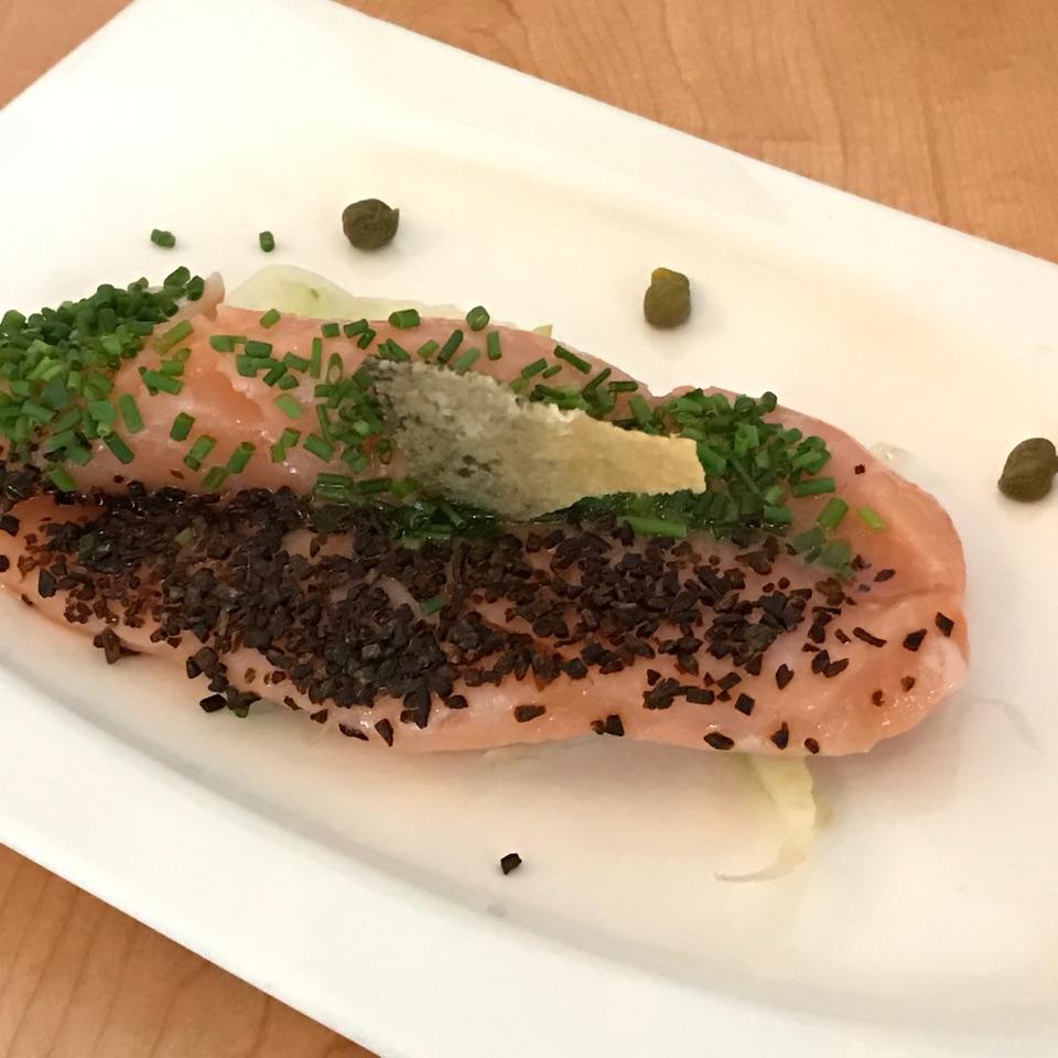 Salmon Confit ($10.90)