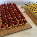 Fruit Tartlets & Milk Choc Mousse