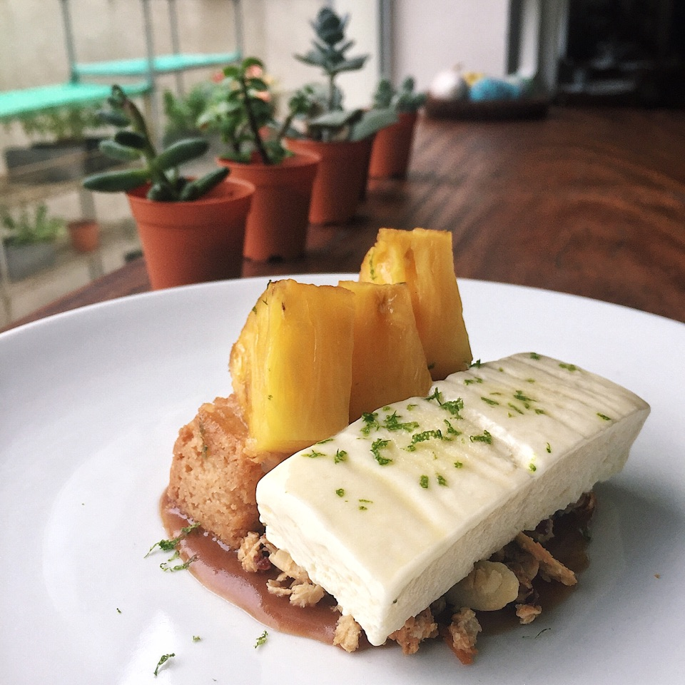 Roasted Pineapple & Coconut Parfait ($11)