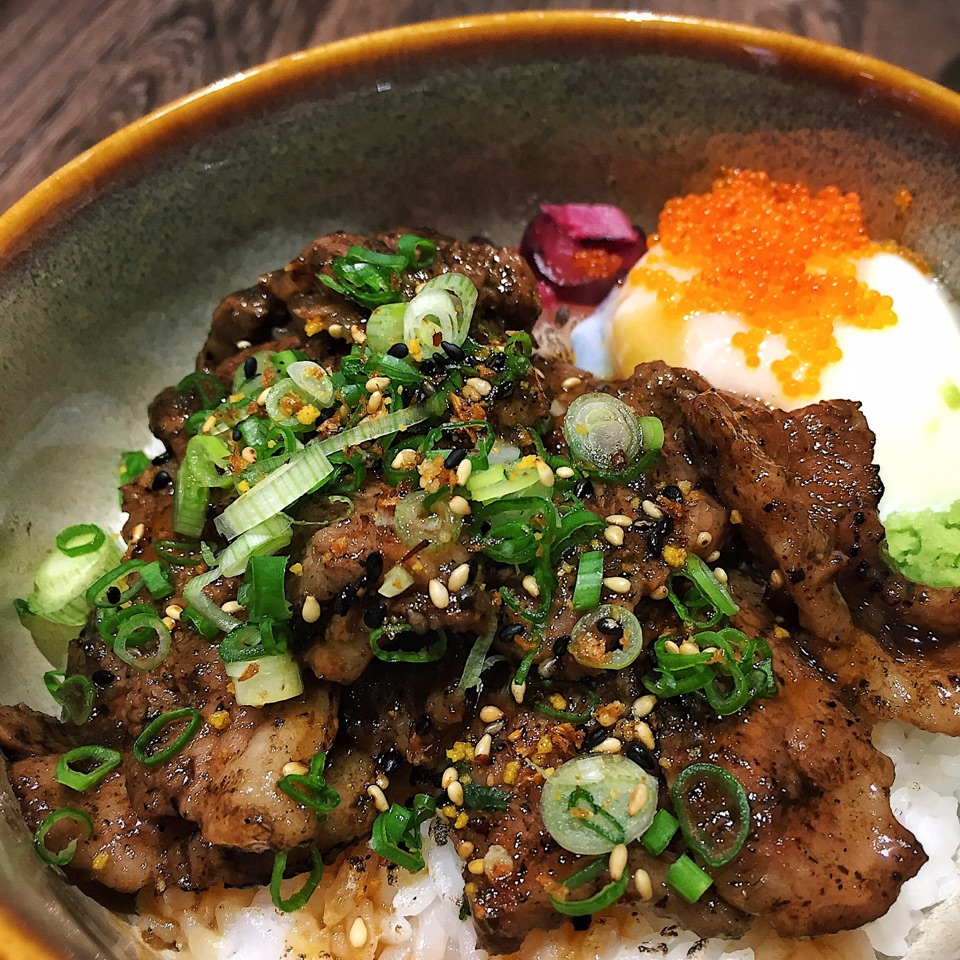 Truffle Wagyu Beef Bowl ($21.90, Topped Up $5 For Truffle)