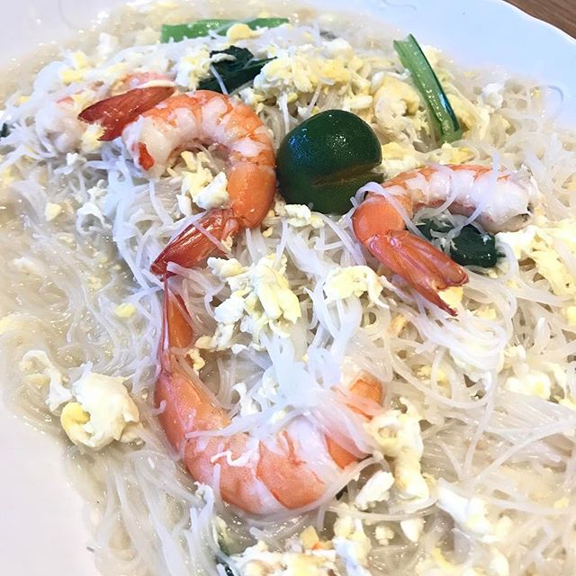 White bee Hoon ($6 - small) at White Restaurant.
