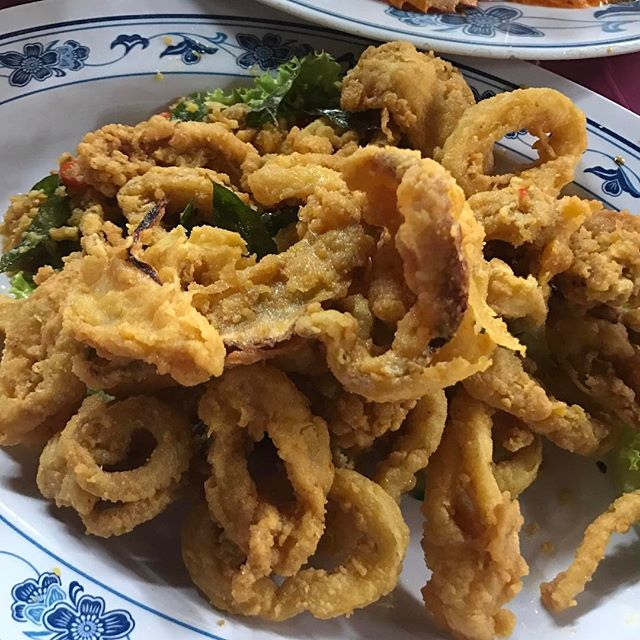 Salted Egg Squid ($28 - medium) @kengengkee ...