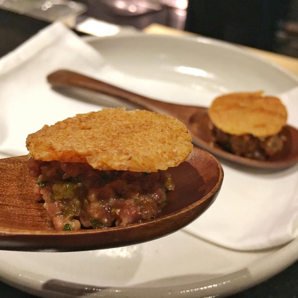 Korean Style Beef Tartare
