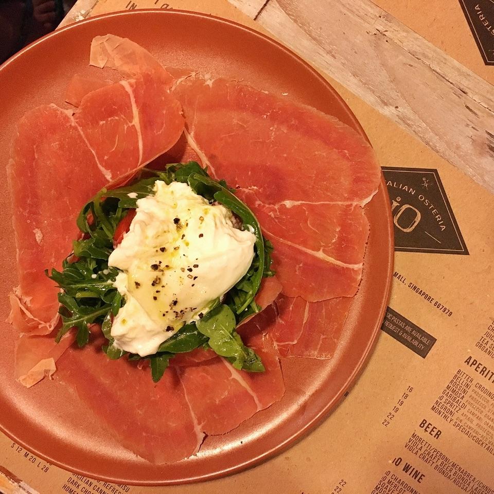 Burrata & Parma Ham