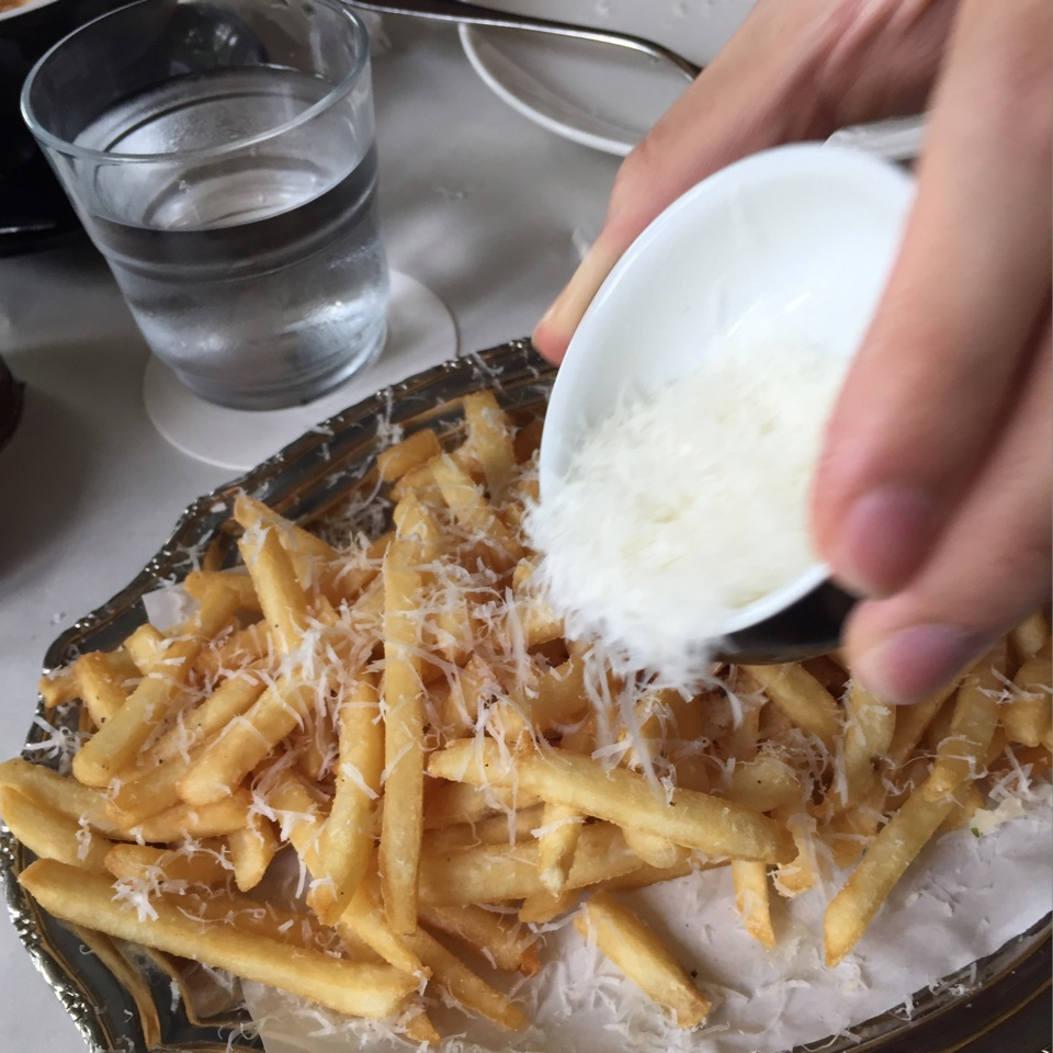 Let It Snow (Cheese!?) On Truffle Fries
