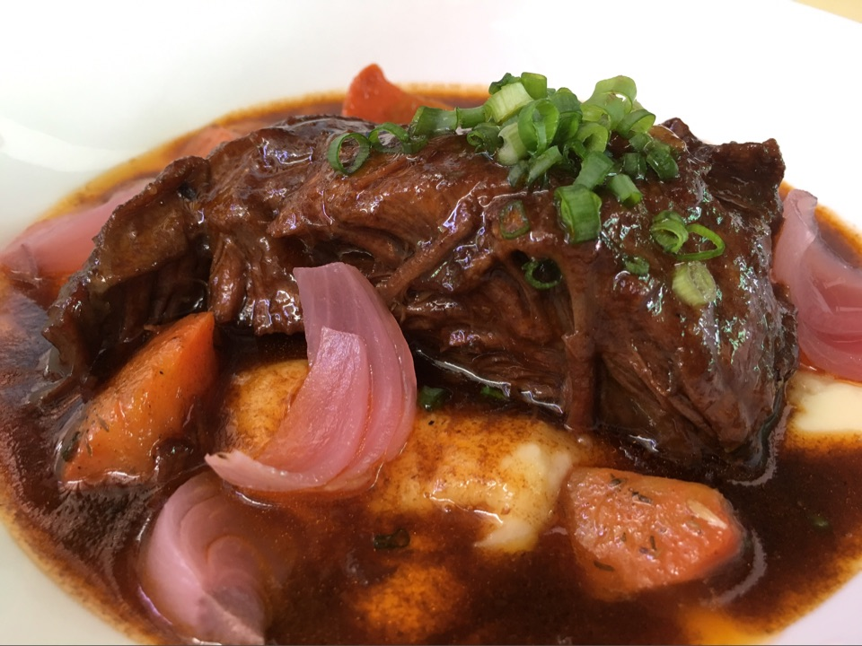 NEW! Slow Cooked Beef Cheeks