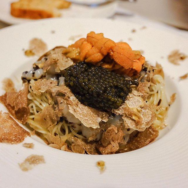 🍴White Holy Trinity [S$$$] Russian 🇷🇺 Caviar, Italian 🇮🇹 White Truffle, Japanese 🇯🇵 Uni, 🇸🇬 Angel Hair.