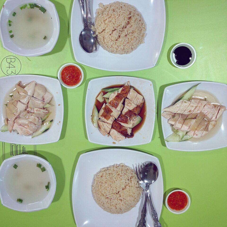 Hawker Food Around Office