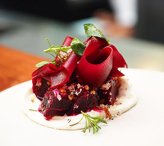 Gorgeous beetroot dish!