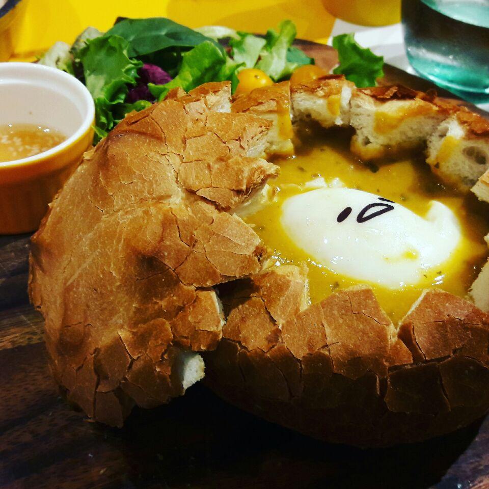 Lobster Bisque Breadbowl
