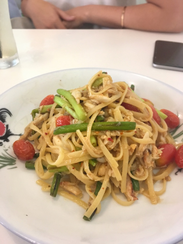Crabby Pasta