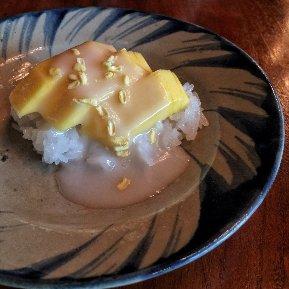 Mango and Sweet Sticky Rice (2/3-course lunch, $25/$30)