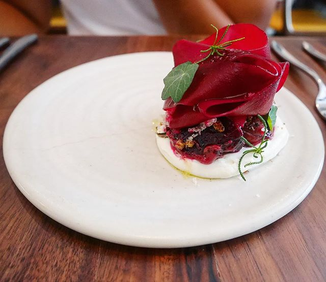 Cheek by Jowl - Appetiser : Salt Baked Beetroot (💵S$17): Goats Cheese | Picked Raisins | Horseradish 🧀 • The taste of every element in this dish is Distinct yet it Compliments each other Harmoniously.