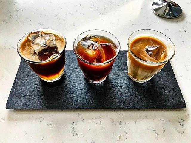 Atlas CoffeeHouse - Brewed Coffee: Black Bird (💵S$8.50) Taste Flight of Cold Brew, Nitro Brew & Iced Black.