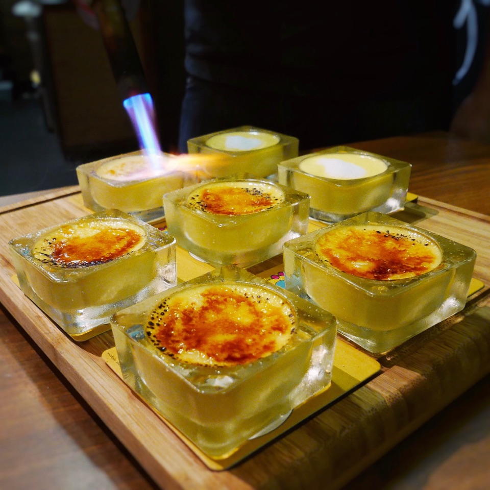 Durian Creme Brûlée