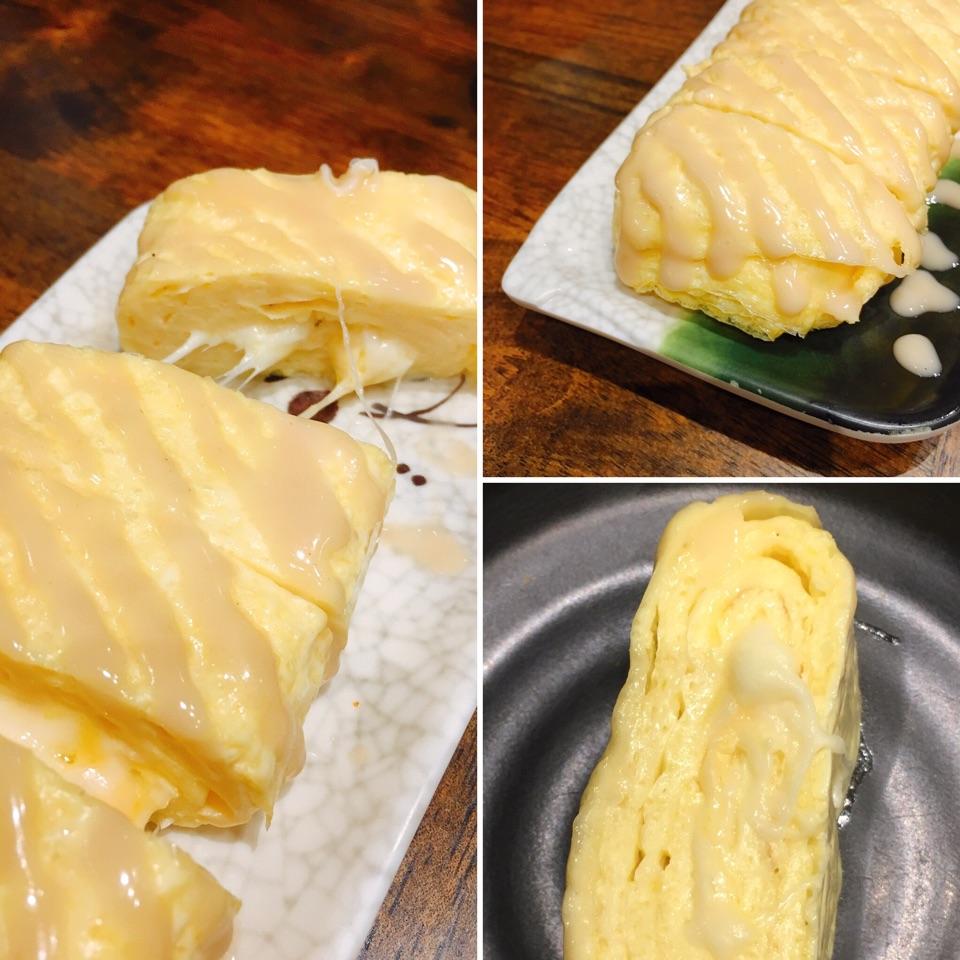 Honey Mustard Cheese Egg Roll