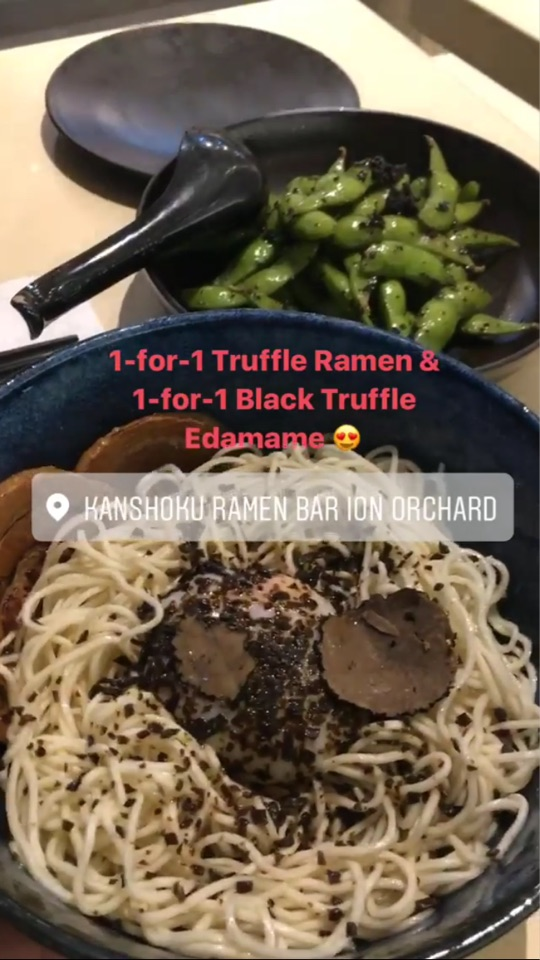 Truffle Goes So Well With Ramen!