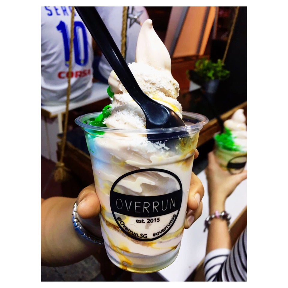 Overrun Chendol Ice Cream $6