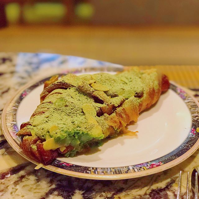 Green Tea Almond Croissant [$3.80] Pulled Pork Bun [$8.50] Plain Kouign Amann [$3.50]  Everything was just pure yums💕💚 #burpple