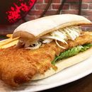 Go big or go home with our Beer-Battered Fish Sandwich, available as part of our new menu launching next Monday!