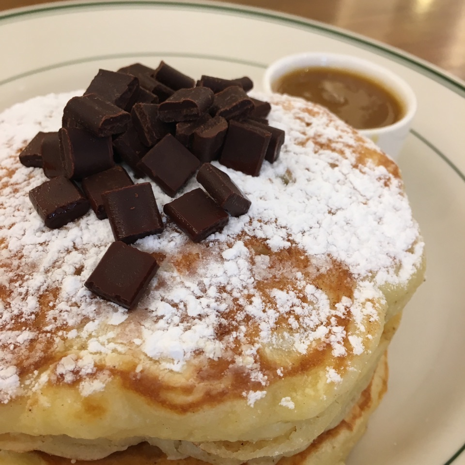 Chocolate Maple Pancakes