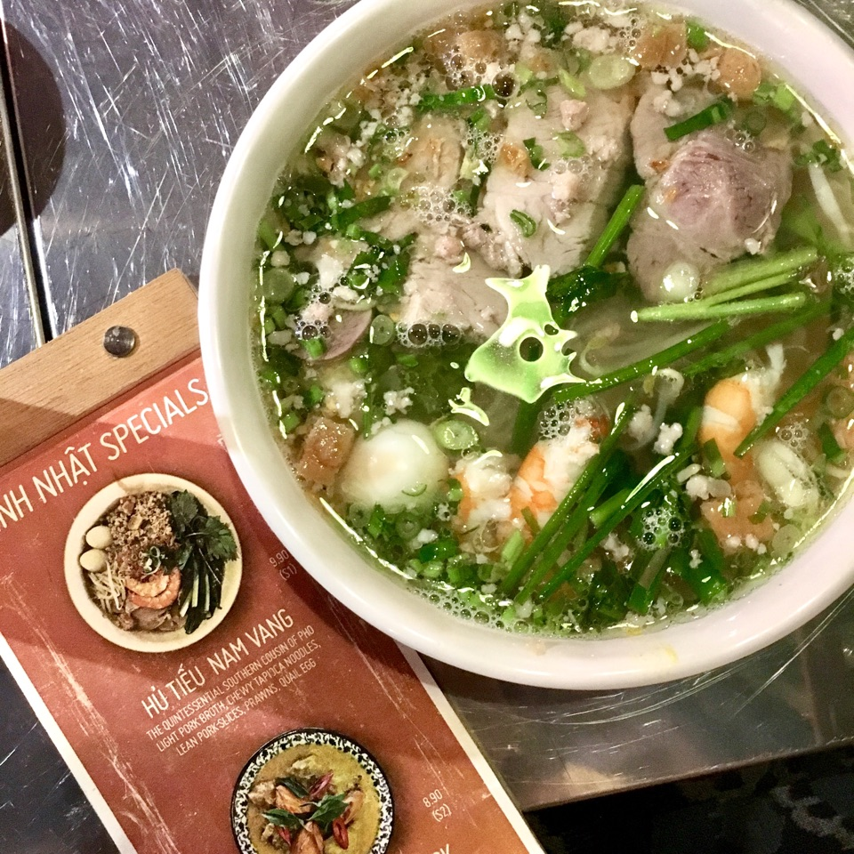 Special Menu Soup Noodles ($9.90)