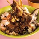 If you like pork ribs, prawn and CHILLI - this is for you.