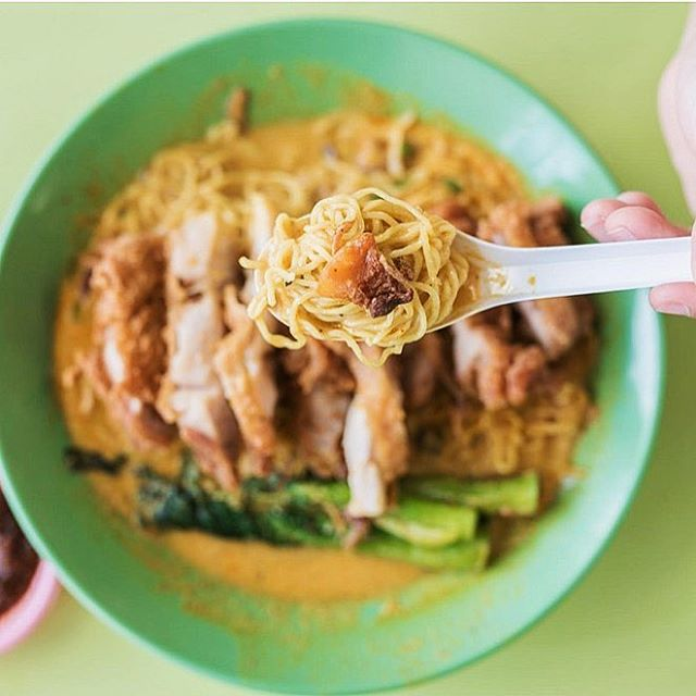 Check out this Fried Chicken Cutlet Curry Noodles from a secret menu!